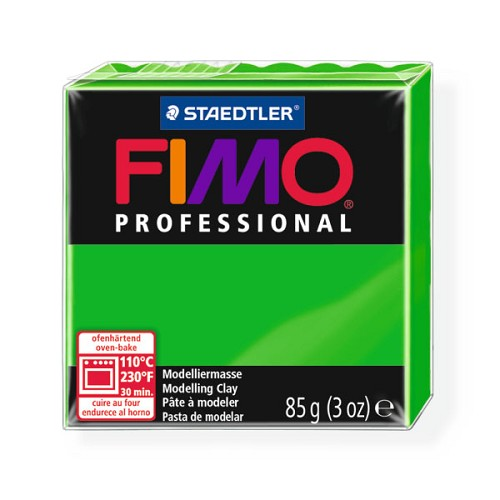 Fimo Professional 85g groen