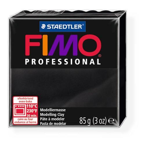 Fimo Professional 85g zwart
