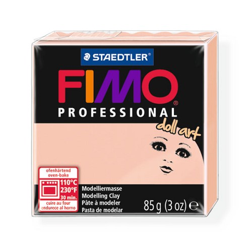 Fimo Professional Doll art 85g doorzichtig rosé