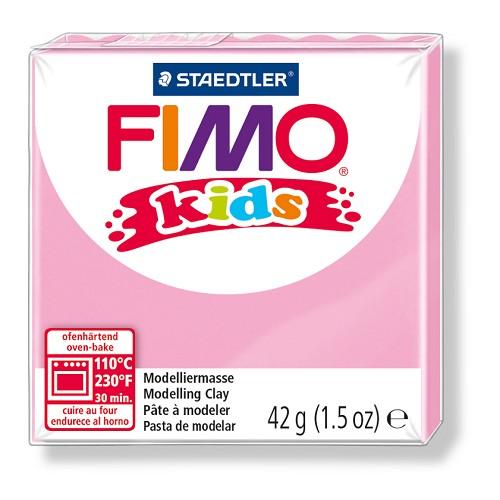 Fimo kids boetseerklei 42 g rose