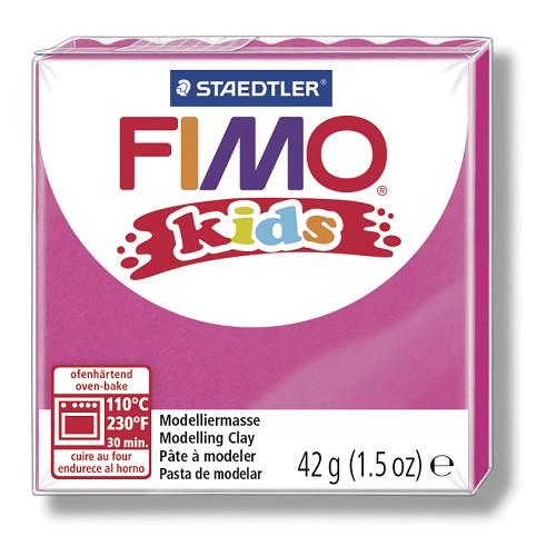 Fimo kids boetseerklei 42 g pink