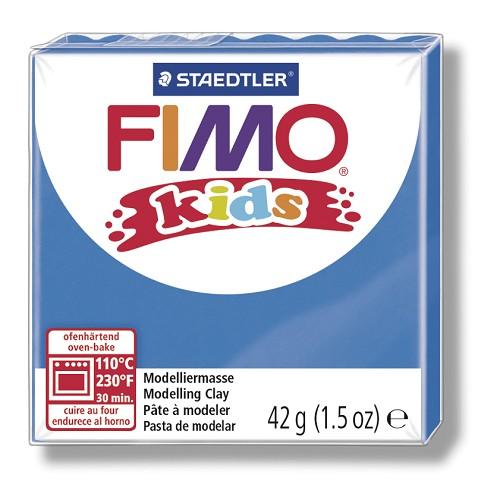 Fimo kids boetseerklei 42 g blauw