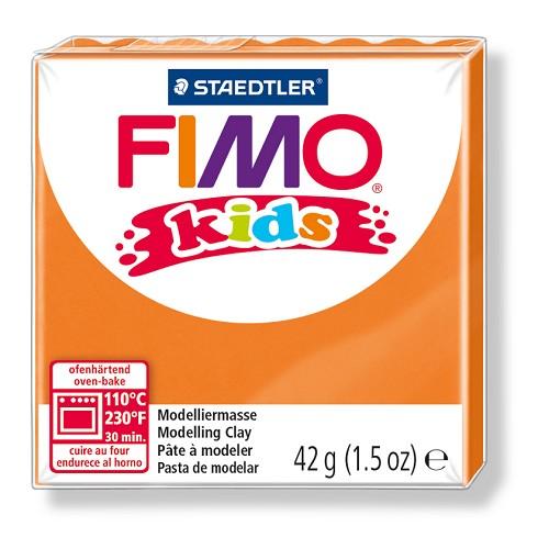 Fimo kids boetseerklei 42 g oranje