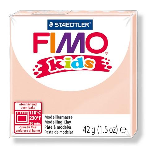 Fimo kids boetseerklei 42 g huidskleur