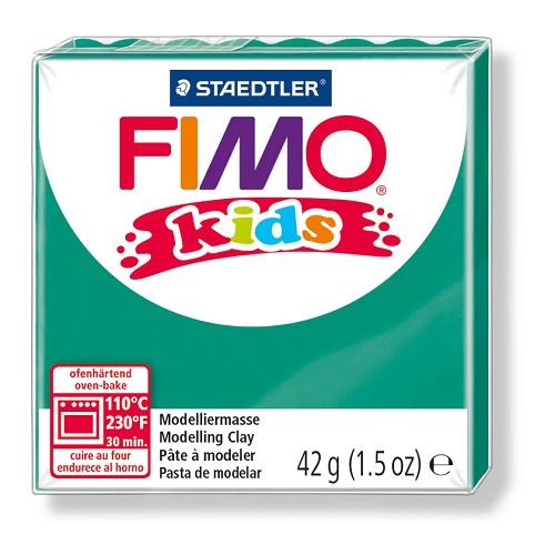 Fimo kids boetseerklei 42 g groen