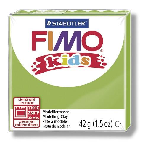 Fimo kids boetseerklei 42 g lichtgroen
