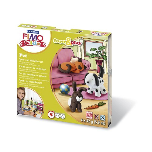 Fimo kids Form&Play Huisdieren