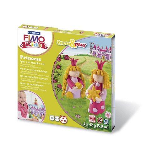 Fimo kids Form&Play Prinses