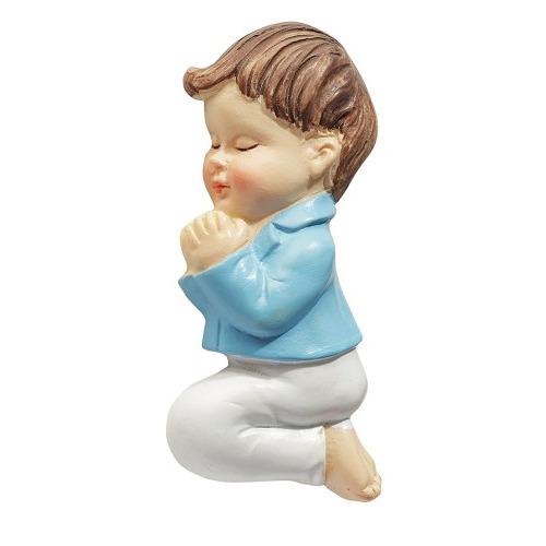 CREApop® Jongen, biddend, 6 cm, 2 D