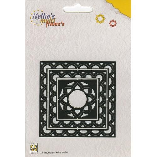 Nellie`s Multi Frame Dies  vierkant