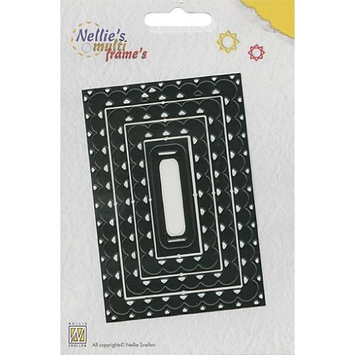 Nellie`s Multi Frame Dies rechthoek