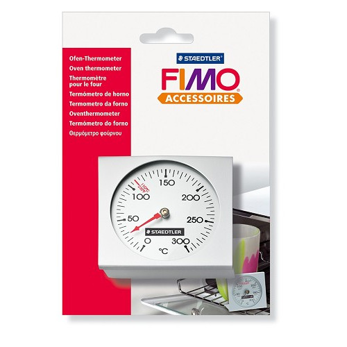 Fimo oventhermometer, van 0 tot 300 °C