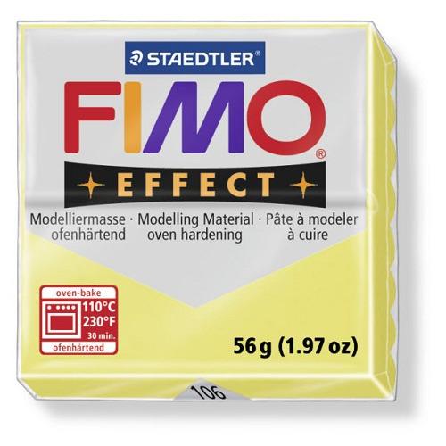 Fimo effect boetseerklei 56 g citrine