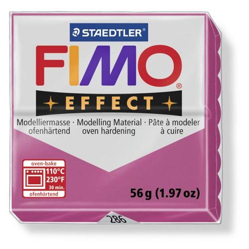 Fimo effect boetseerklei 56 g robijn kwarts