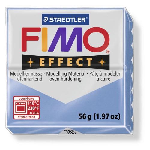 Fimo effect boetseerklei 56 g blauw agaat