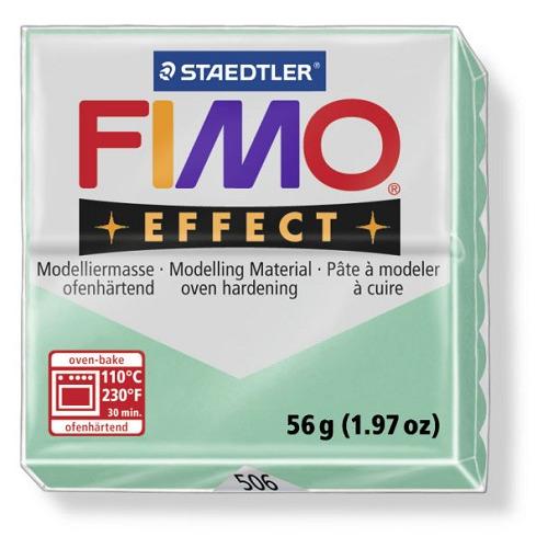 Fimo effect boetseerklei 56 g groen jade