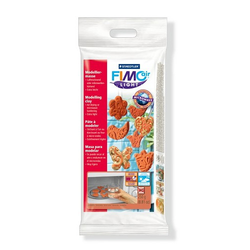 Fimo air light boetseerklei 250 gr, terrakotta
