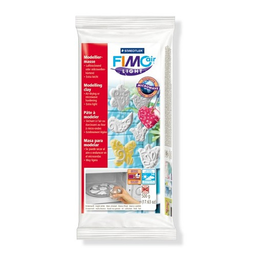 Fimo air light boetseerklei 500 gr, wit