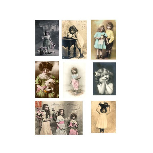 Vintage Toppers A4 Children