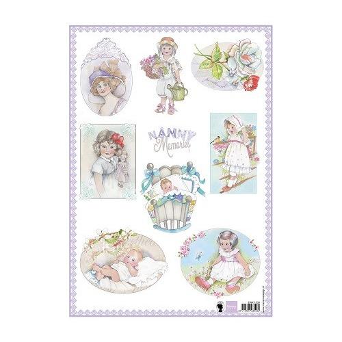 Marianne D 3D Knipvellen Nanny Memories 1 EWK1230 (New 03-15)