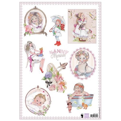 Marianne D 3D Knipvellen Nanny Memories 2 EWK1231 (New 03-15)