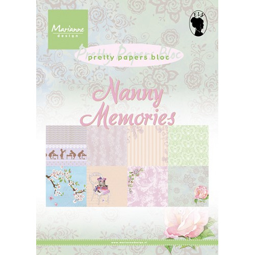 Marianne D Paper pad Nanny Memories PK9122 (New 03-15)