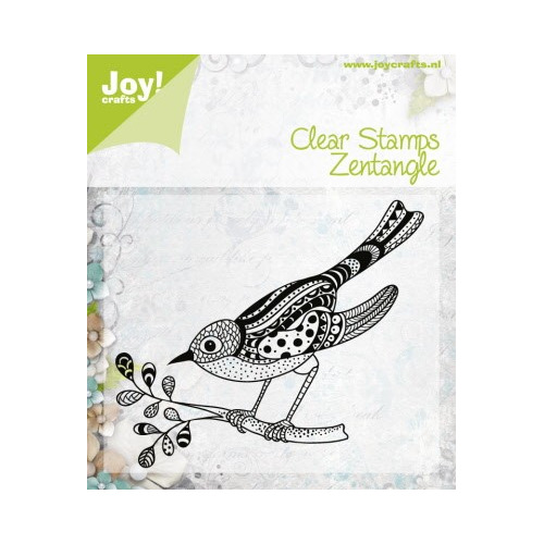 APR Joy! stempel zentangle bird 92 x 80 mm