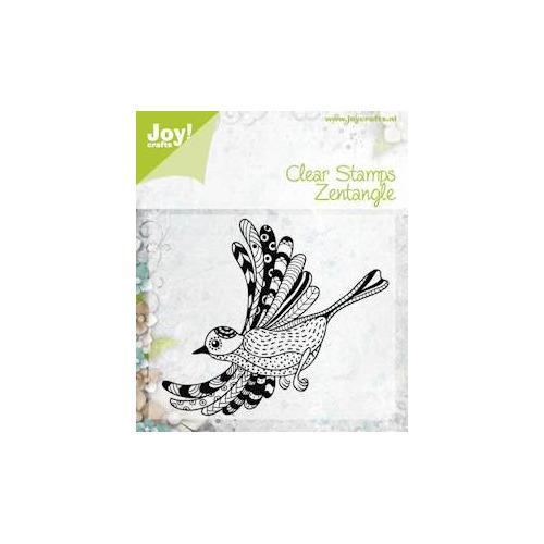 APR Joy! stempel zentangle bird 92 x 70 mm