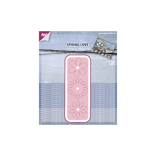 APR Joy! stencil spring love Cutting & Embossing