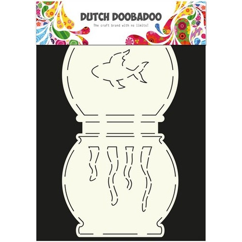 Dutch Doobadoo Dutch Card Art Stencil vissenkom A5 470.713.504 (new 04-2015)