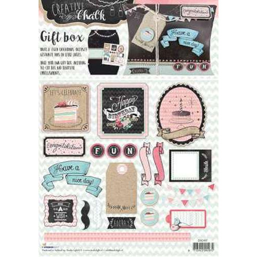 Studio Light cadeau doosjes Chalk nr 37 CDCH37 (new 04-15)
