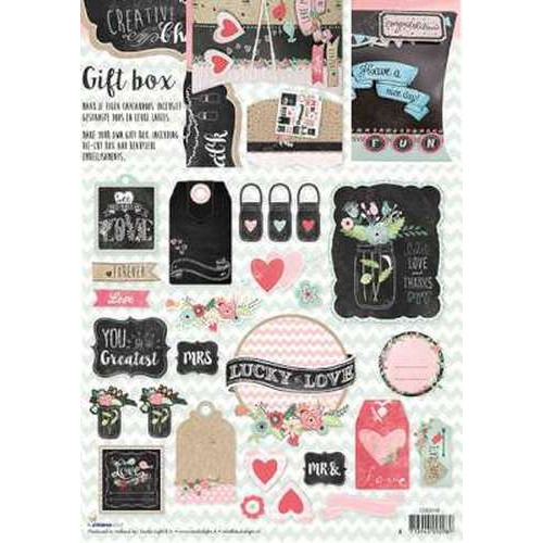 Studio Light cadeau doosjes Chalk nr 38 CDCH38 (new 04-15)
