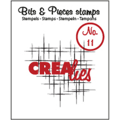 Crealies Clearstamp Bits&Pieces no. 11 Sparkle CLBP11