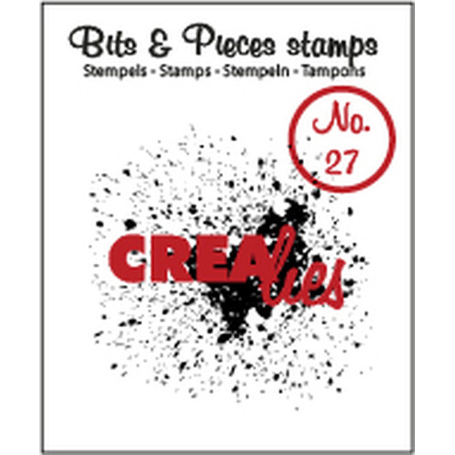 Crealies Clearstamp Bits&Pieces no. 27 Grunge CLBP27