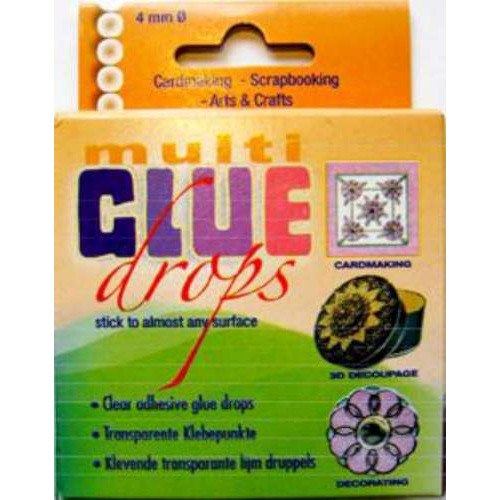 1 PK (1PK) Multi glue drops 110 ST 4 mm