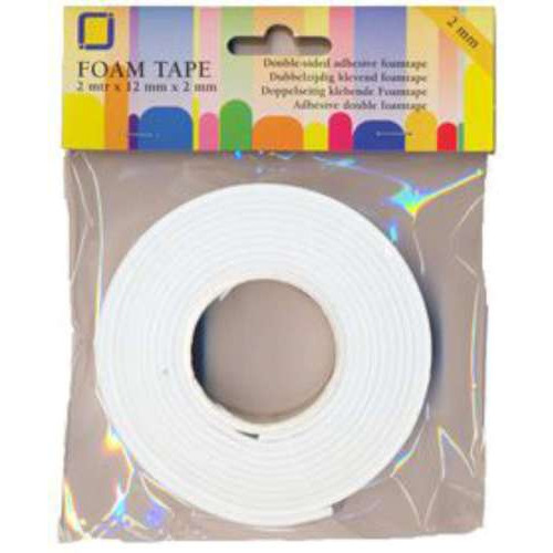 55 RL 1 DS (55RL) Foamtape 2 mm overdoos 2 MT
