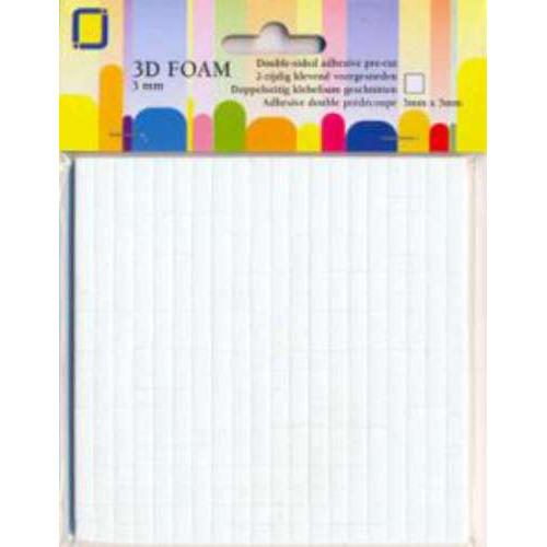 1 PK (1PK) Foam dots 3 X 5 x 5 mm