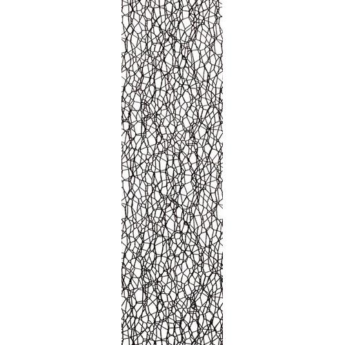 1 RL (10 MT) Lint Crispy zwart 30MM
