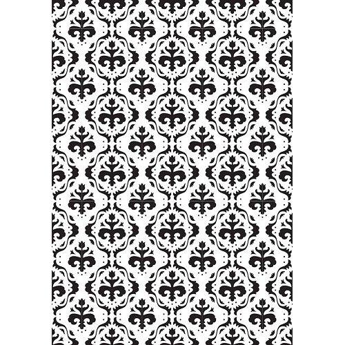 Embossing Folder 106x150mm Vintasia  Baroc background pattern