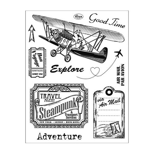 Clear Stamps - Adventure