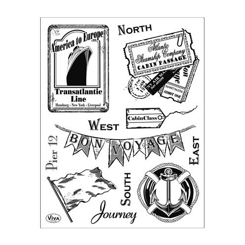 Clear Stamps - Journey