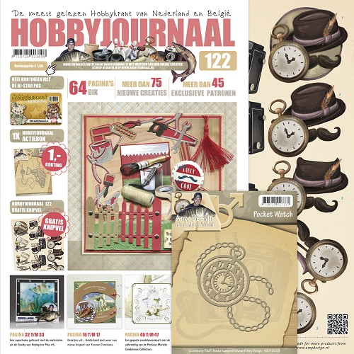 Hobbyjournaal 122 - SET ADD10025