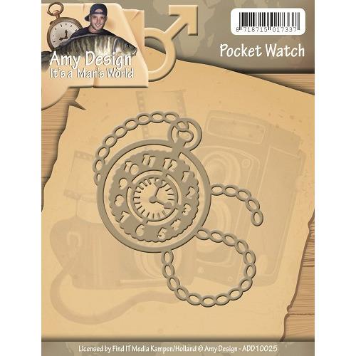 Die - Amy Design - Its a Mans World - Pocket Watch