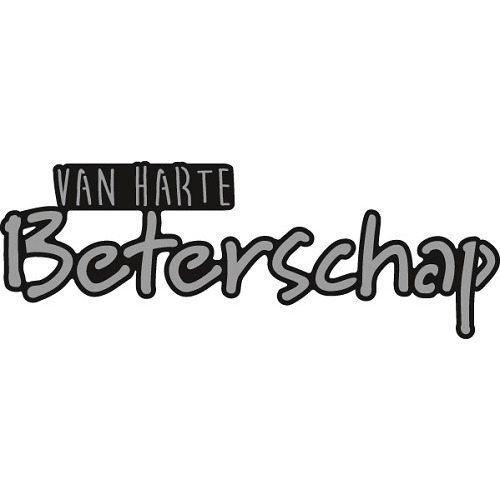 Marianne Design Craftable - Van harte BETERSCHAP