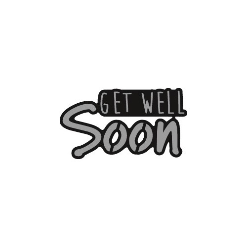 Marianne Design Craftable - Get well SOON