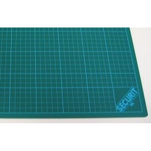 1 ST (1 ST) Snijmat groen 3-laags 30x45cm