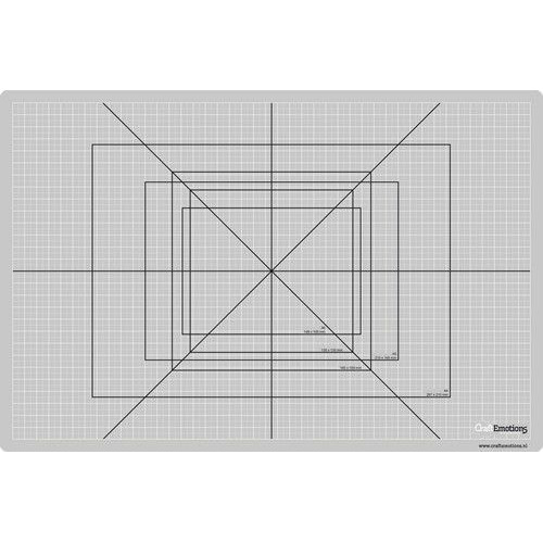 1 ST (1 ST) Snijmat dun 30x45cm