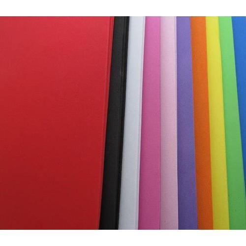 EVA foam vellen 2mm 22 x 30 cm 10 kleuren 50st (5 vl x 10 kle