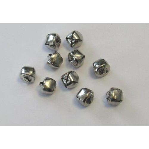 Kerst belletjes zilver 12 mm 10 ST
