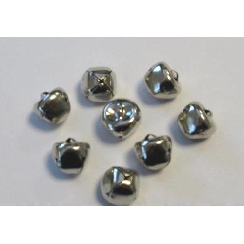 Kerst belletjes zilver 15 mm 8 ST